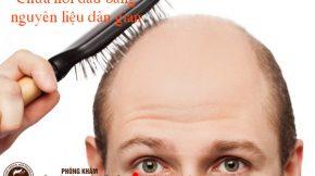 chữa hói đầu bằng nguyên liệu dân gian