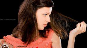 nguyên nhân rụng tóc tuổi 18