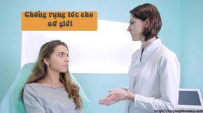 cách chống rụng tóc cho nữ giới