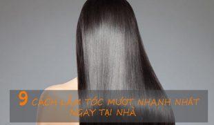 9 Cách làm tóc mượt nhanh nhất tại nhà bạn nên bỏ túi