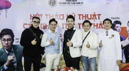 MC Lê Anh đồng hành cùng Hội thảo Kỹ thuật cấy ghép tóc tự thân