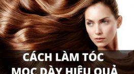 Làm sao để tóc dày lên cho cô nàng tóc thưa mỏng?