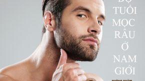 Độ tuổi mọc râu