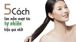 [ Chia Sẻ ]: 5 Cách làm tóc trở nên mềm mượt hiệu quả
