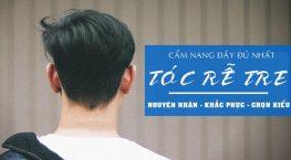Bật mí cách khắc phục tóc rễ tre nam hiệu quả